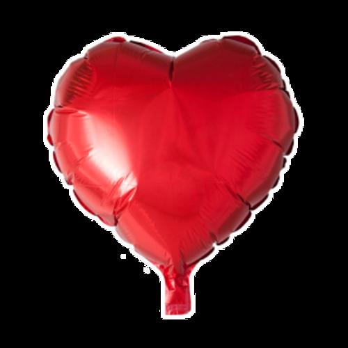 Globos Nordic Folie ballon hart rood 46 x 49 cm