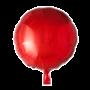 Folie ballon rond rood 46 cm