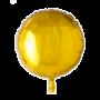 Folie ballon rond goud 46 cm