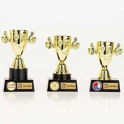 Trofee Happy goud