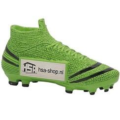 Trofee Voetbalschoen Groen / Zwart 13 cm