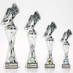 Trofee Voetbalschoen Heavy Zilver