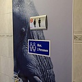 HSA Raamsticker max 2 personen 30x15cm blauw