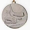 Medaille IJshockey 5cm met lint 22mm