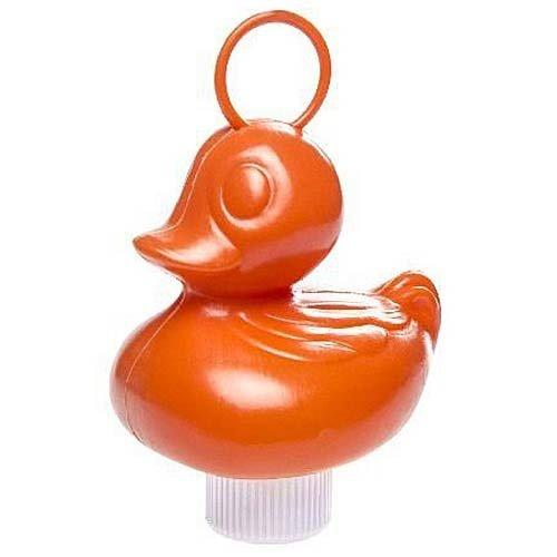 Kermis eend oranje 12 cm