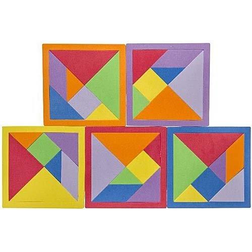 Foam puzzel 15 x 15 cm
