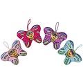 Pluche vlinder 13 cm