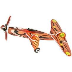 Puzzel 3D vliegtuig 8 x 6 cm