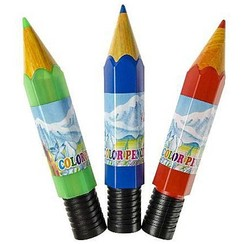 Kleurpotloden in tube 12 stuks