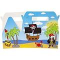 Menubox piraten 22 x 12 x 9 cm