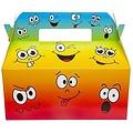 Menubox smileys 22 x 12 x 9 cm