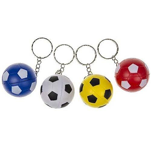 Sleutelhanger voetbal 4 cm