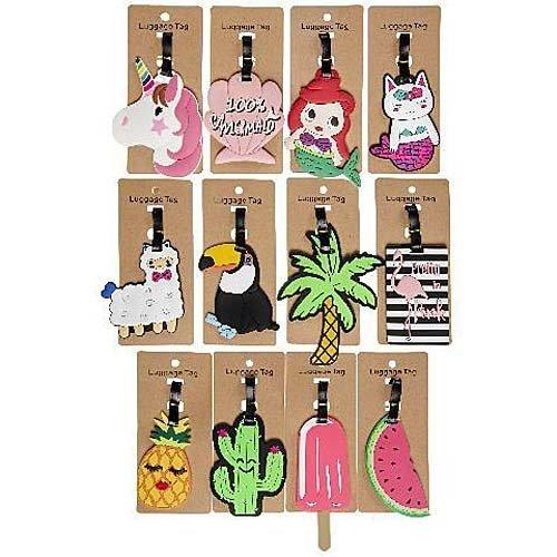 Hangtag trendy summer 18 x 8 cm