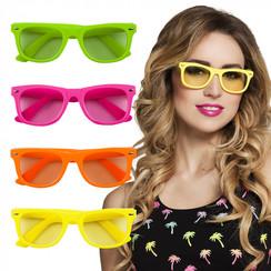Party bril diverse kleuren