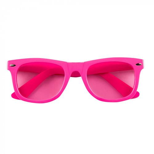 Boland BV Bril neon roze