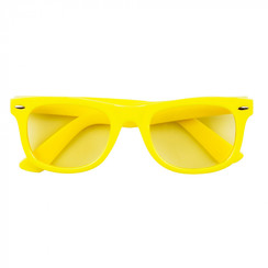 Bril neon geel