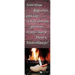 Spandoek Sinterklaas kapoentje 220 x 75 cm brandveilig