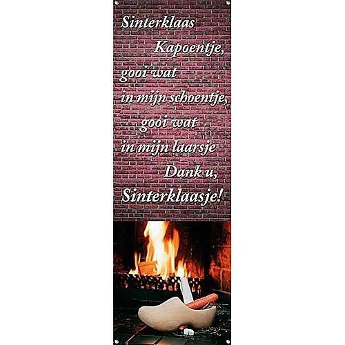 HSA Spandoek Sinterklaas kapoentje 220 x 75 cm brandveilig