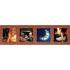 Spandoek Sinterklaas sfeer 268 x 75 cm brandveilig
