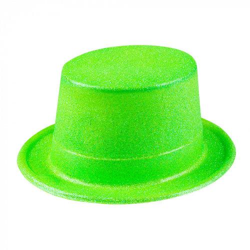 Boland BV Hoed glitter neon groen