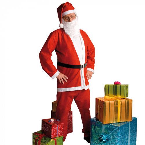 Kostuum kerstman promo