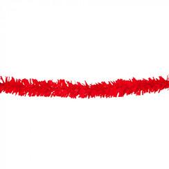 Folie slinger rood pvc 10 m brandveilig