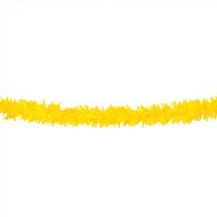 Folie slinger geel pvc 10 m brandveilig