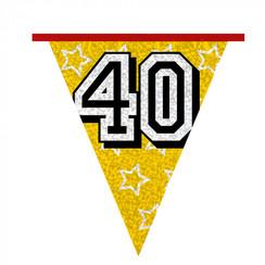 Vlaggenlijn 40 jaar 8 m