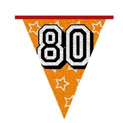Vlaggenlijn 80 jaar 8 m