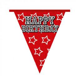 Vlaggenlijn Happy Birthday 8 m
