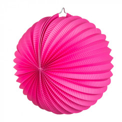 Bol lampion roze ø 23 cm
