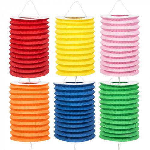 Boland BV Treklampion uni kleuren Ø 16 cm set van 6 stuks