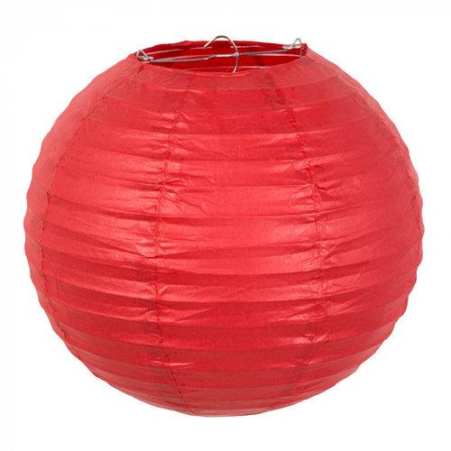 Boland BV Bol lampion rood ø 25 cm
