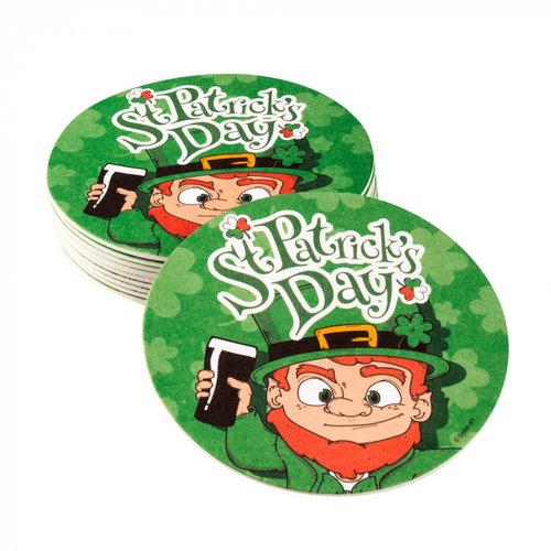 Boland BV Bierviltjes St. Patrick's Day ø 10 cm 10 stuks