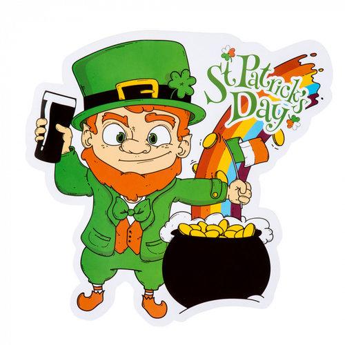 Boland BV Decoratiebord St. Patrick's Day 30 x 29 cm