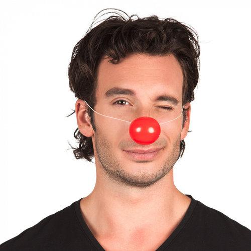 Clownsneus rood met elastiek