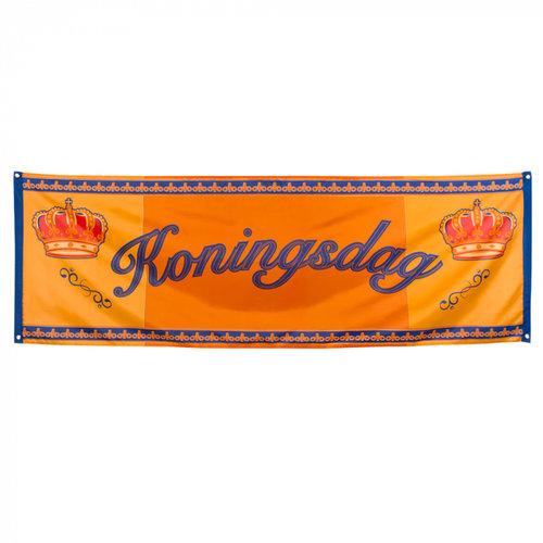 Boland BV Banner Koningsdag 74 x 220 cm