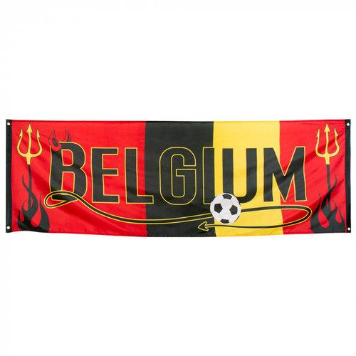 Boland BV Banner 'Belgium' 74 x 220 cm