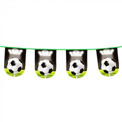 Vlaggenlijn voetbal rond 6 m