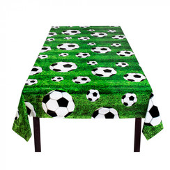 Tafelkleed voetbal 120 x 180 cm