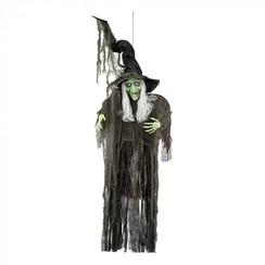 Hangdeco halloween heks 190 cm