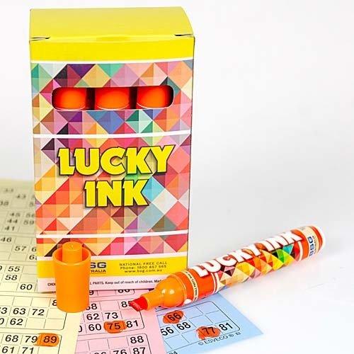 Bingostiften Lucky Ink 12 stuks