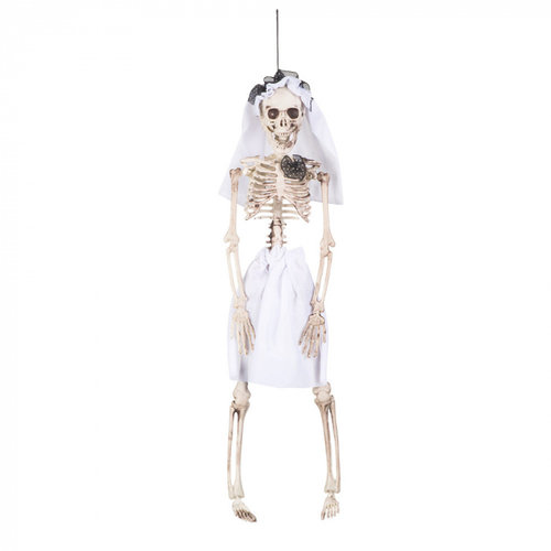 Boland BV Hangdeco skelet bruid 40 cm