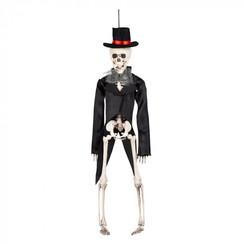 Hangdeco skelet bruidegom 43 cm