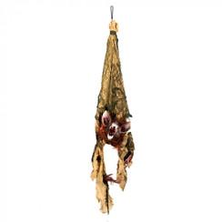 Hangdeco vleermuis met beweging, licht en geluid 110 cm