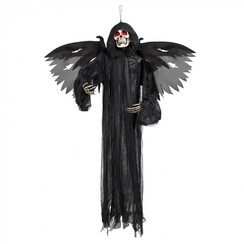 Hangdeco demon met licht 165 cm