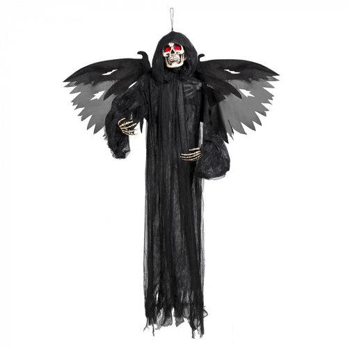 Boland BV Hangdeco demon met licht 165 cm