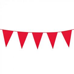 Vlaggenlijn rood 10 m