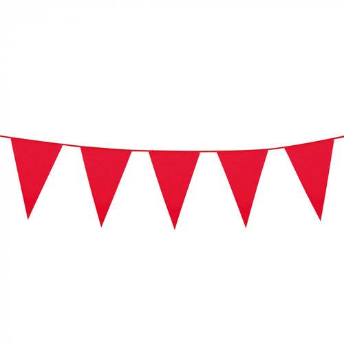 Boland BV Grote vlaggenlijn rood 10 m
