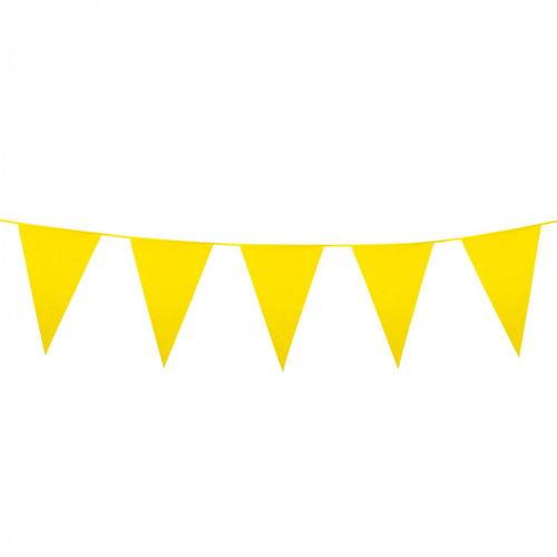Boland BV Grote vlaggenlijn geel 10 m